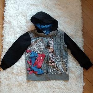 Marvel Spiderman hoody sweater 4T